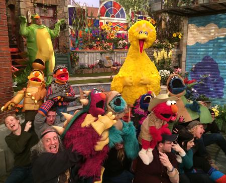 Martin P. Robinson Sesame Street cast member
