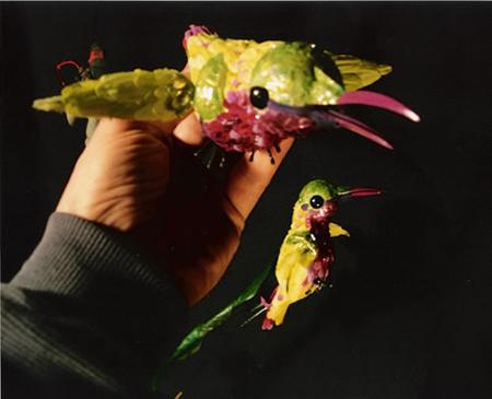 Martin P. Robinson puppetry for Allegra's Window