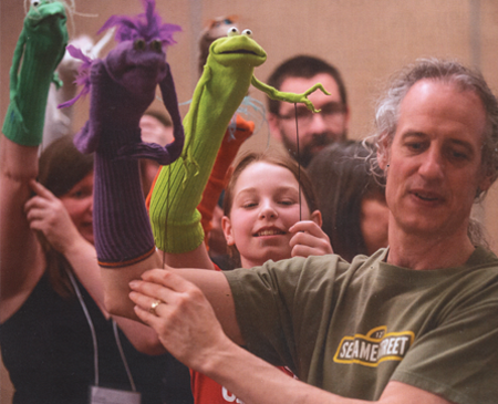 Martin P. Robinson puppet workshop